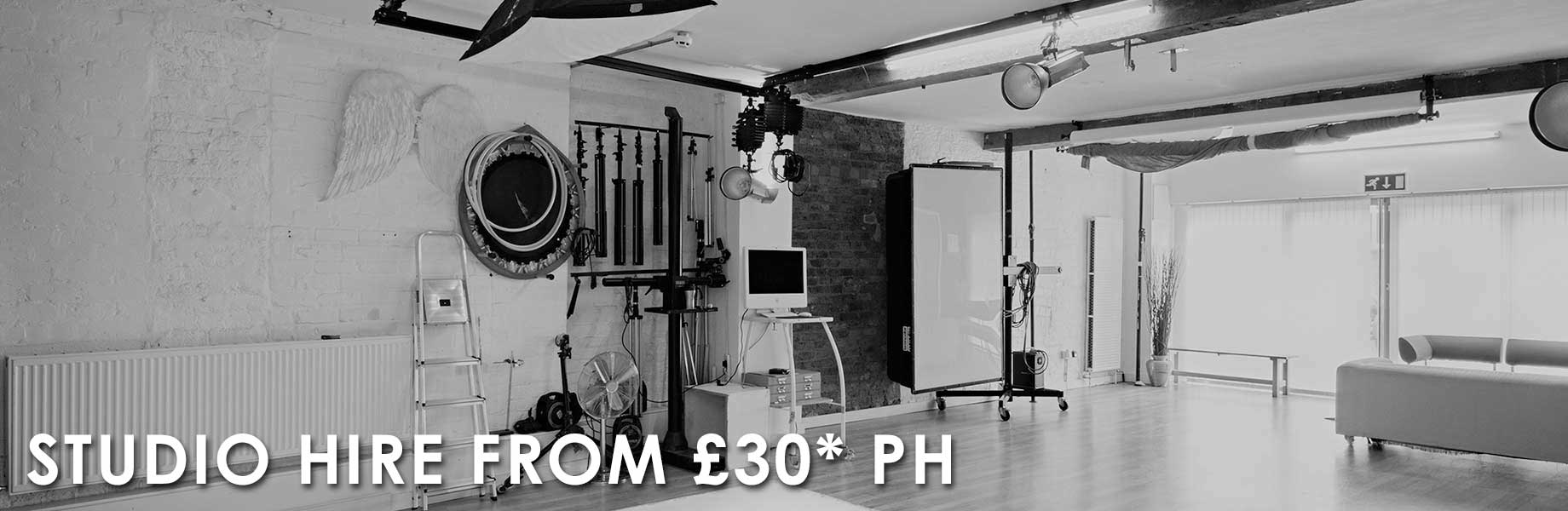 Sheffield Studio Hire from 330 per hour