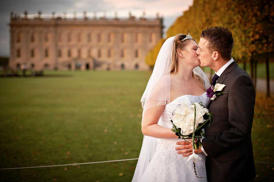 Wedding Photography at CHATSWORTH HOUSE