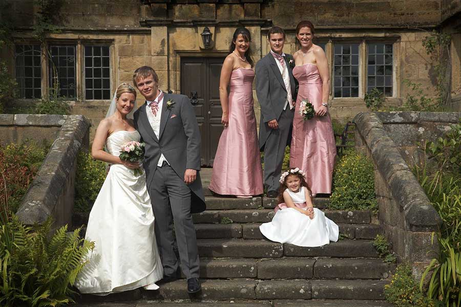 Wedding Photography at EYAM HALL