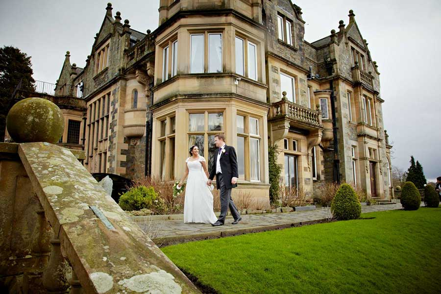 Wedding Photography at LANGDALE CHASE HOTEL