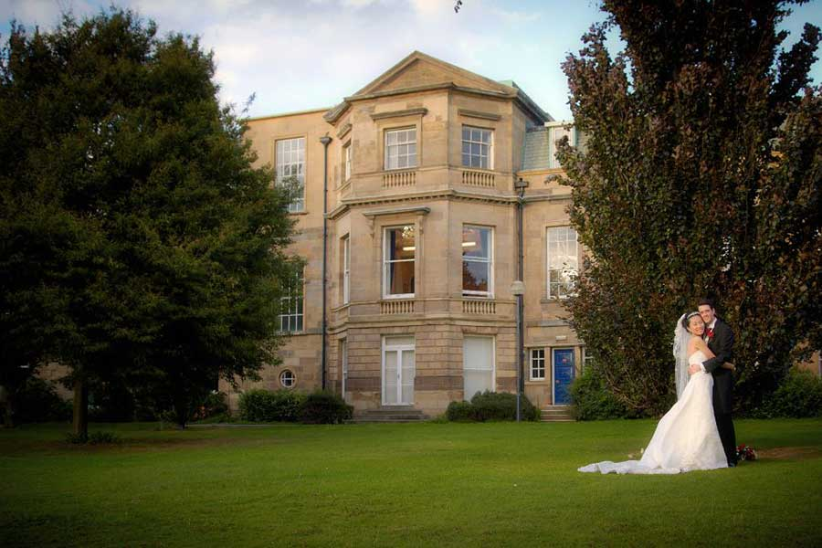 Wedding Photography at HALL COLLEGE