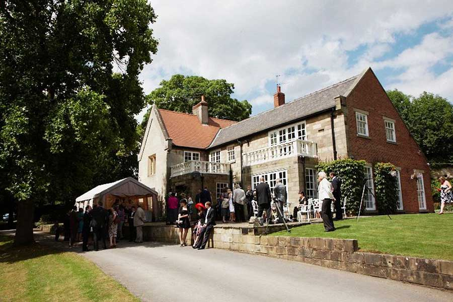 Wedding Photography at THE OLD VICARAGE ECKESLEY
