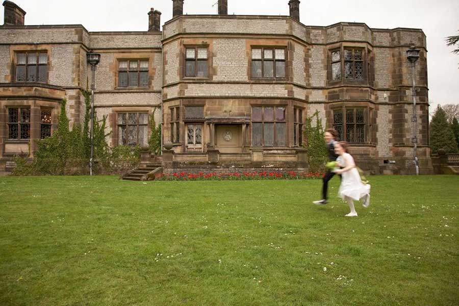 Wedding Photography at THORNBRIDGE HALL