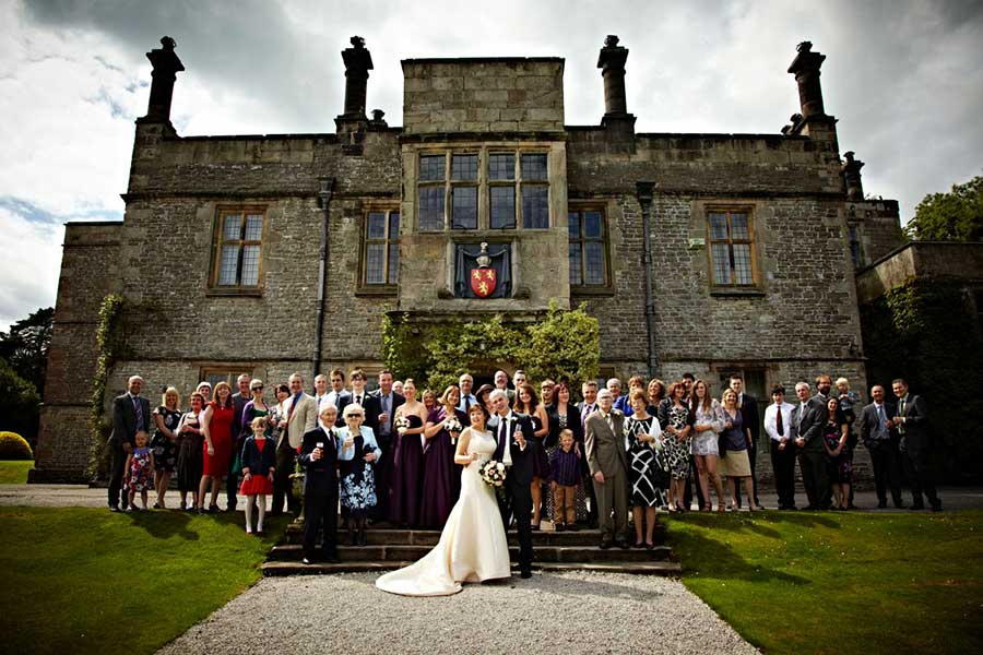 Wedding Photography at TISSINGTON HALL