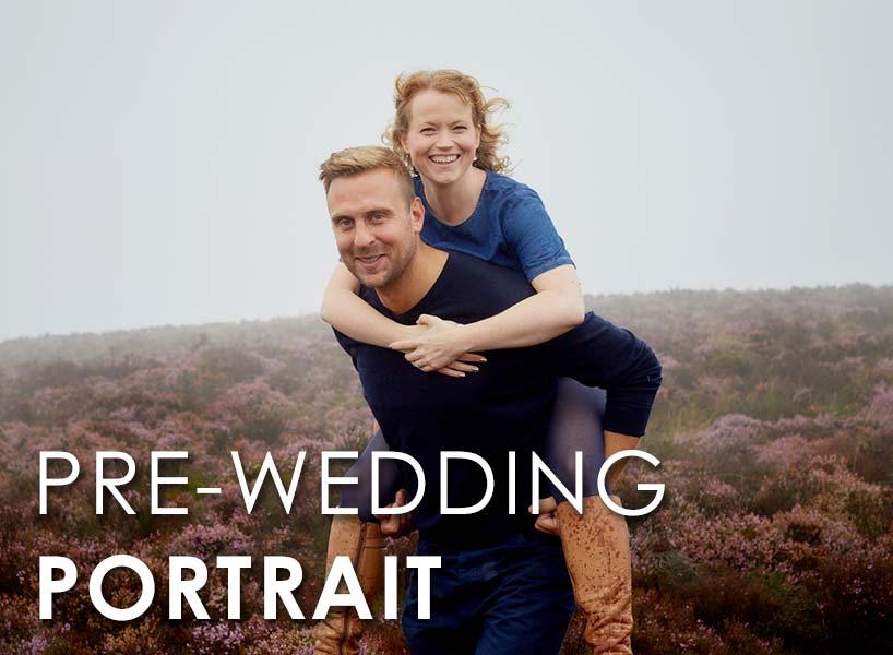 Pre-wedding location portraits in Sheffield